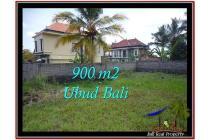 Langka Potensial Tanah 900 m2 Ubud Tampak Siring YUB532