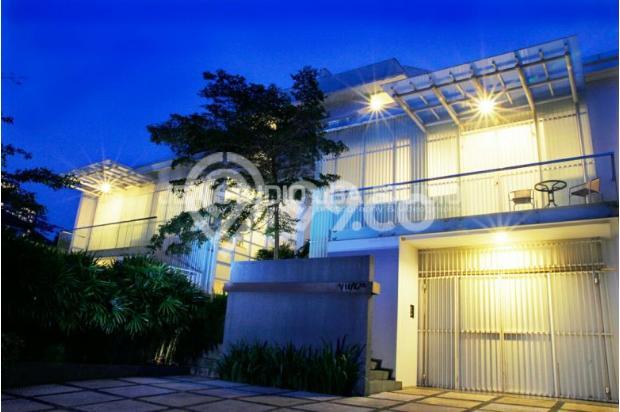 villa di bandung 4 kamar dengan kolam renang pribadi p 17