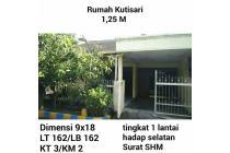 Dijual Rumah Kutisari wonorejo Surabaya murah nego