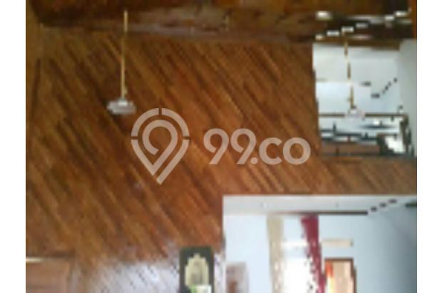dijual cepat bu rumah mewah semi furnish kayu jati