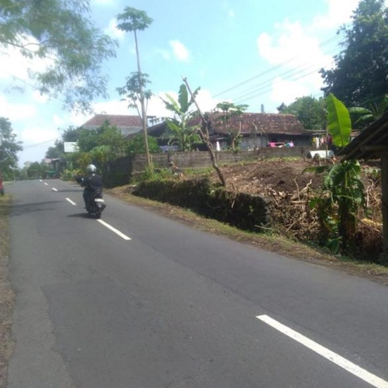 Tanah Pinggi Jalan di Kaliurang Cocok Bangun Usaha
