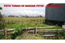 Jual Tanah 1,5 Are di Jl Pura Dalam Gg Abasan Lestari Banjar Pitik Denpasar