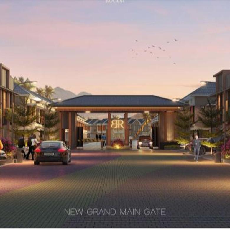 Ruko Strategis di Bogor Design Modern
