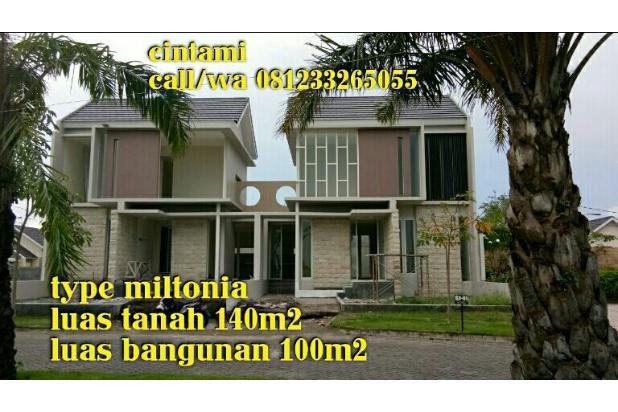 rumah 2lantai dekat bandara Juanda bebas biaya 14943294