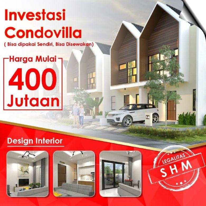 Investasi Villa Full Furnished Standar Hotel Di Puncak