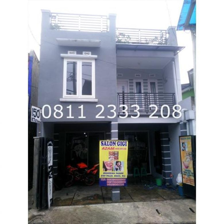 Ruko, ruang usaha minimalis Siap Huni di Jalan Gagak, Sukaluyu, area Surapa