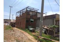 Dijual Tanah dan Rumah Setengah Jadi Sangat Murah Di Sindanglaya Bandung