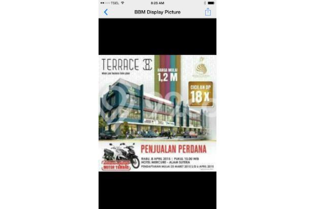 Dijual Ruko Terrace Suvarna Sutera by Alam Sutra (CIKUPA) Tangerang 2393353