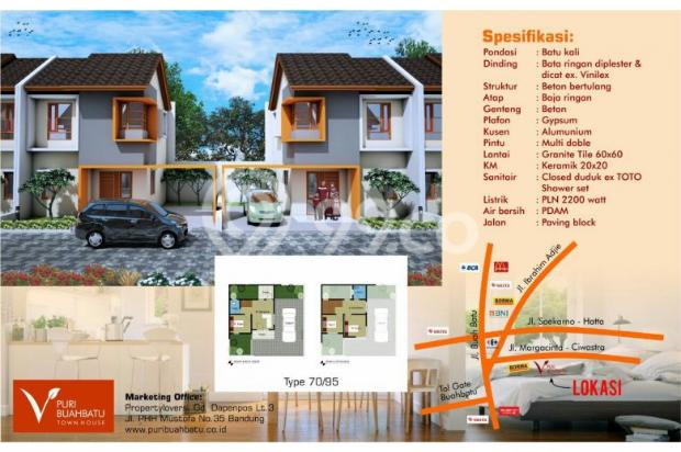 Rumah baru 2 lantai strategis di Cijaura Buah batu Bandung 22022711