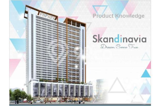 Dijual Apartemen Baru 1BR Murah Nyaman di Skandinavia TangCity Tangerang 13134855