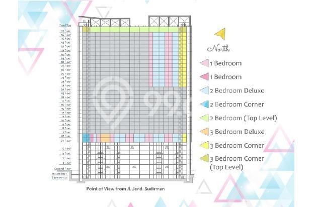 Dijual Apartemen Baru 1BR Murah Nyaman di Skandinavia TangCity Tangerang 13134956