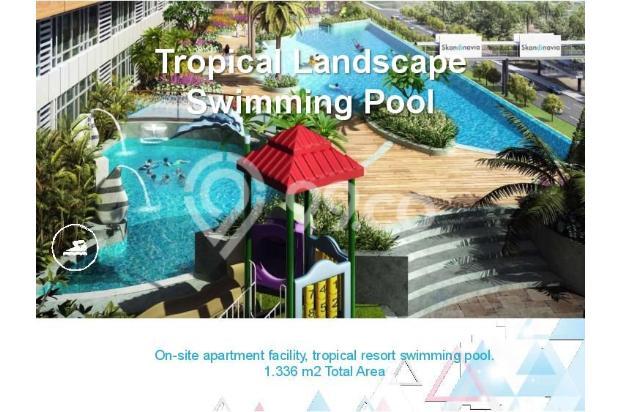 Dijual Apartemen Baru 1BR Murah Nyaman di Skandinavia TangCity Tangerang 13134879