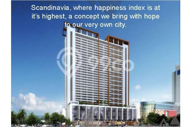 Dijual Apartemen Baru 1BR Murah Nyaman di Skandinavia TangCity Tangerang 13134882