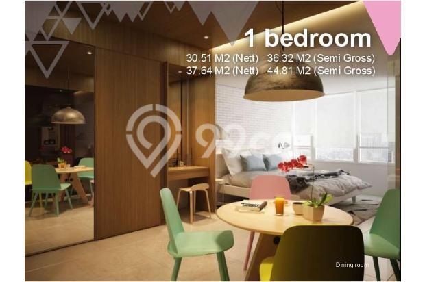 Dijual Apartemen Baru 1BR Murah Nyaman di Skandinavia TangCity Tangerang 13134905