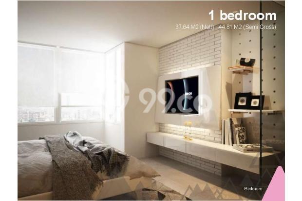 Dijual Apartemen Baru 1BR Murah Nyaman di Skandinavia TangCity Tangerang 13134909