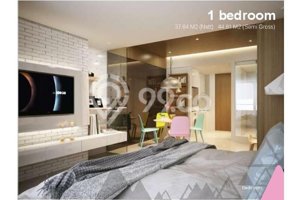 Dijual Apartemen Baru 1BR Murah Nyaman di Skandinavia TangCity Tangerang 13134908