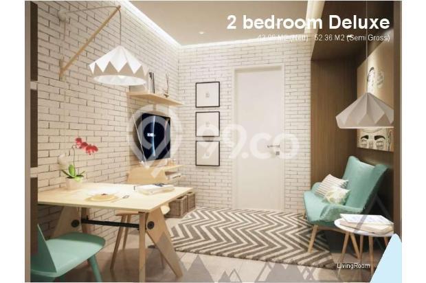 Dijual Apartemen Baru 1BR Murah Nyaman di Skandinavia TangCity Tangerang 13134917