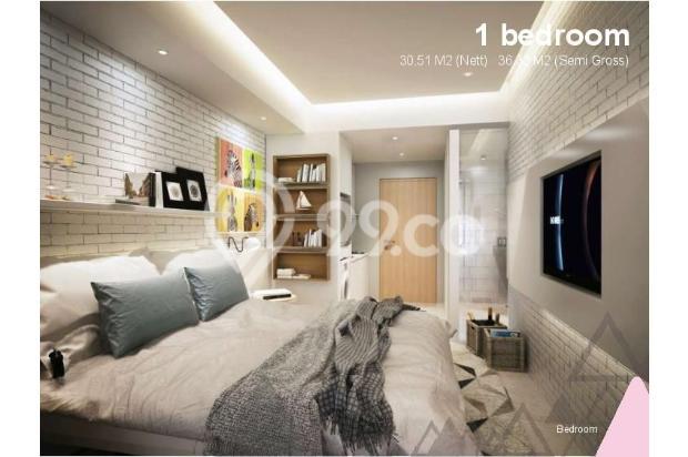 Dijual Apartemen Baru 1BR Murah Nyaman di Skandinavia TangCity Tangerang 13134912
