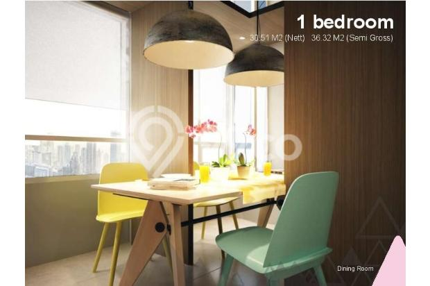 Dijual Apartemen Baru 1BR Murah Nyaman di Skandinavia TangCity Tangerang 13134915