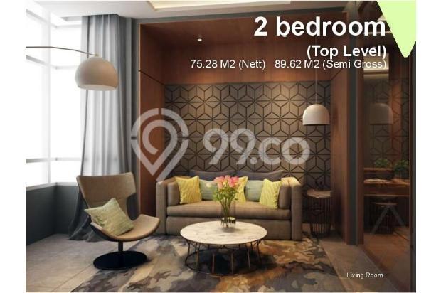 Dijual Apartemen Baru 1BR Murah Nyaman di Skandinavia TangCity Tangerang 13134925