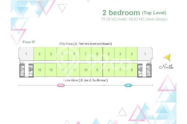 Dijual Apartemen Baru 1BR Murah Nyaman di Skandinavia TangCity Tangerang 13134926