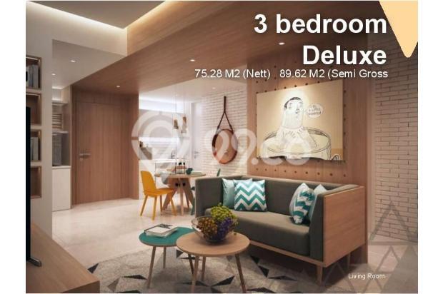 Dijual Apartemen Baru 1BR Murah Nyaman di Skandinavia TangCity Tangerang 13134932