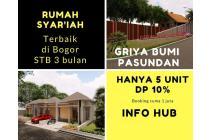 Rumah Syariah Mewah Harga Murah di Bogor dan 3 Bulan Siap Huni
