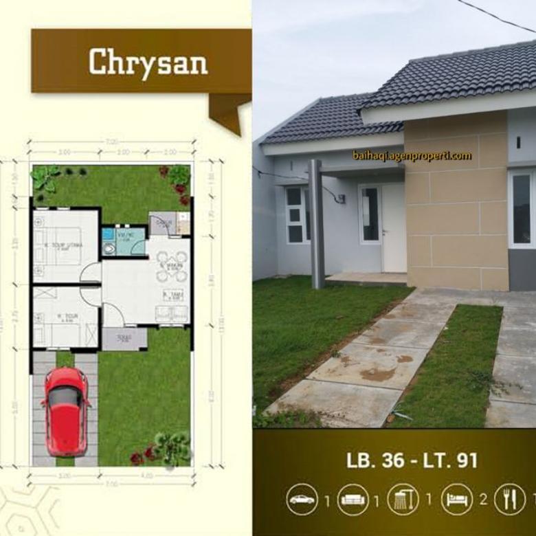Rumah murah Tanpa DP Type 36 Perum Taman Anggun Sejahtera 5