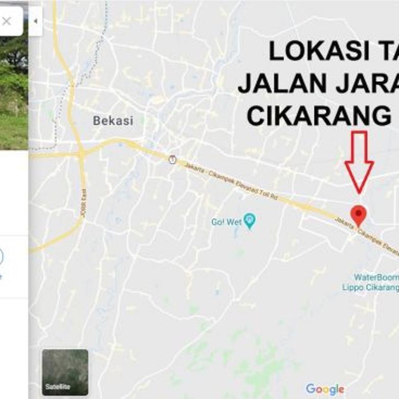 Tanah Industri 6,2 Hektar Cikarang Barat Jarakosta 2 Juta / m2