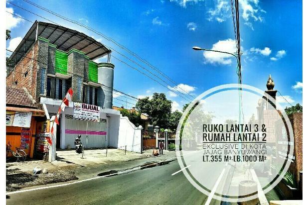 Dijual Ruko Lantai 3 dan Rumah Lantai 2 Pusat Kota Jajag Banyuwangi 13961723