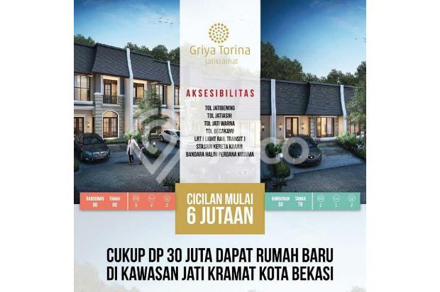 Dijual Rumah DP Murah 30 Juta FREE SEMUA BIAYA Di Jati Kramat 15144969