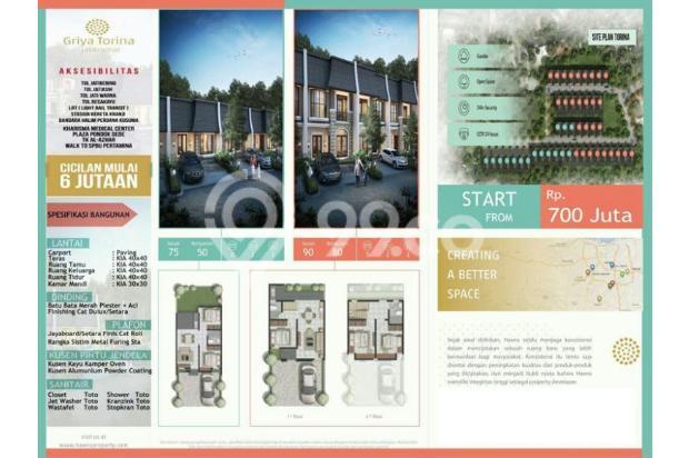 Dijual Rumah DP Murah 30 Juta FREE SEMUA BIAYA Di Jati Kramat 15144985