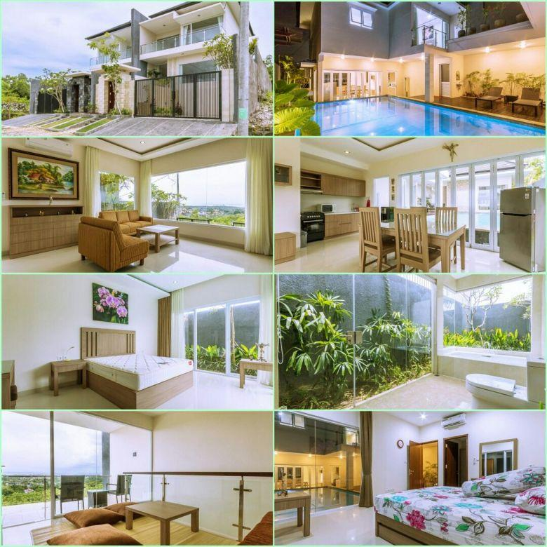Dijual villa baru di Puri Gading Jimbaran, Badung