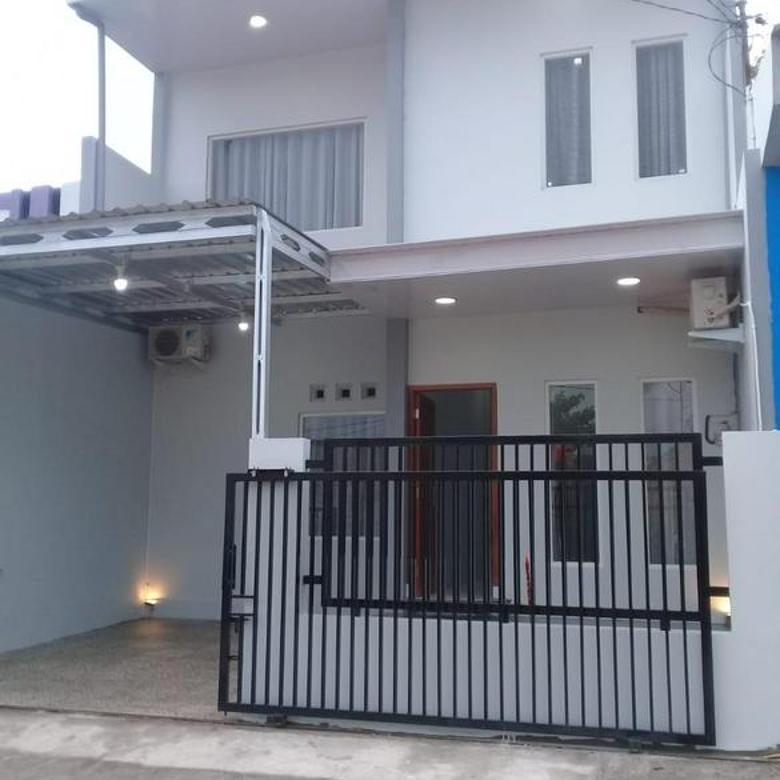 Rumah bangunan baru modern yang aman dan nyaman