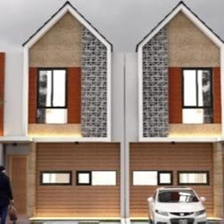 Dijual Rumah Modern Konsep Townhouse di Pekapuran Tapos, Depok