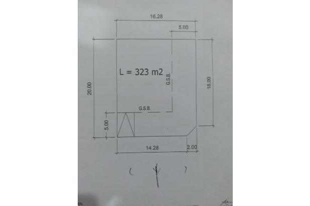 Rp839jt Tanah Dijual