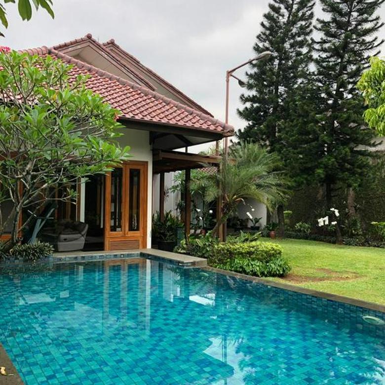 Rumah di Lebak Bulus, Jakarta Selatan ~ Lokasi Asri dan Tenang