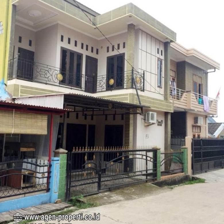 Dijual Rumahdi Komplek Bukit Nusa Indah, Kebun Bunga Palembang
