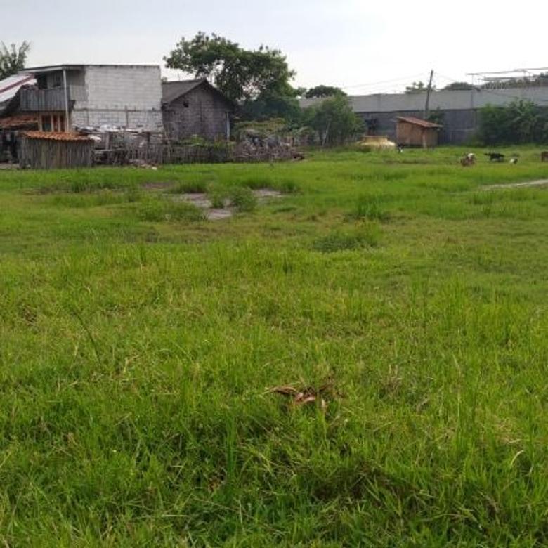 Tanah murah di daerah pergudangan dekat Dadap & Bandara