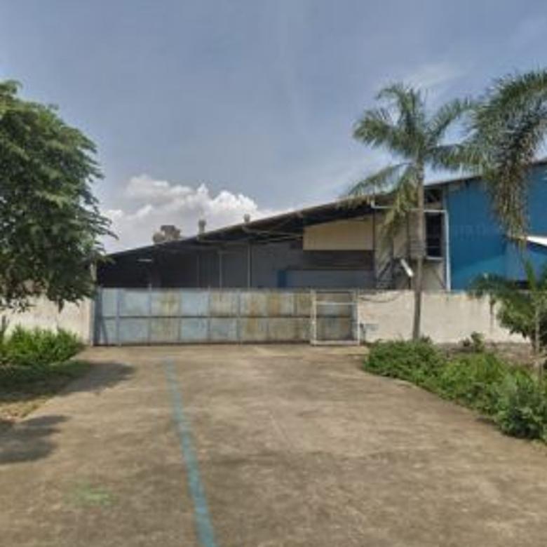 Dijual Pabrik dan Kantor dengan luas36000m2 ex Pabrik Cibitung