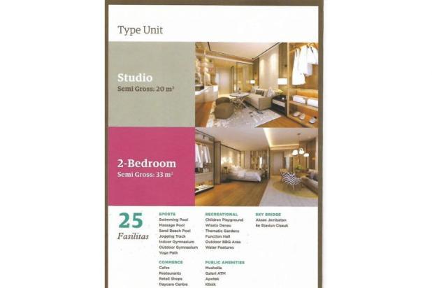 Rp207jt Apartemen Dijual