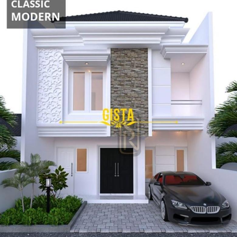 Rumah Baru Dijual Dalam Cluster Lokasi Strategis di Jagakarsa