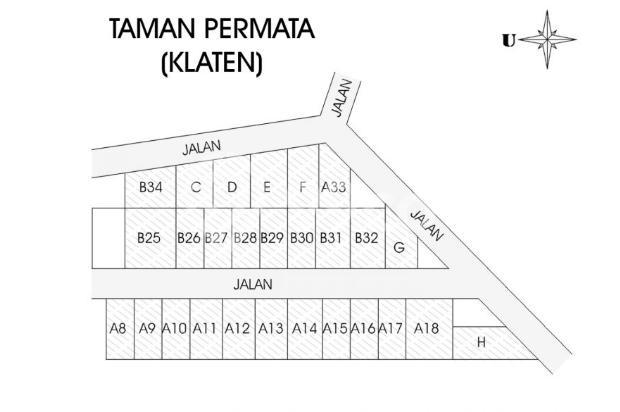 Tanah Perumahan, Klaten Kota, 12 X ANGSURAN TANPA BUNGA 16223980