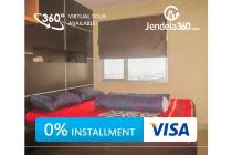 The 18th Residence Rasuna Apartment 1BR (Bisa cicilan 12x)
