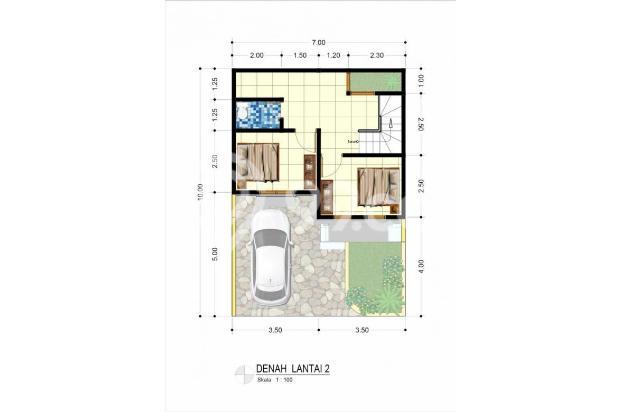 Rumah Baru dijual dalam cluster di Griya Rosela 3,Pondok Cabe, Tangsel 16317728