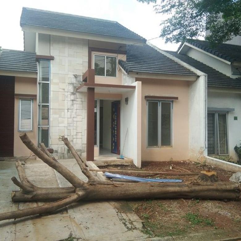 Rumah Rapi dan Siap Huni di Serpong Garden cluster Green River