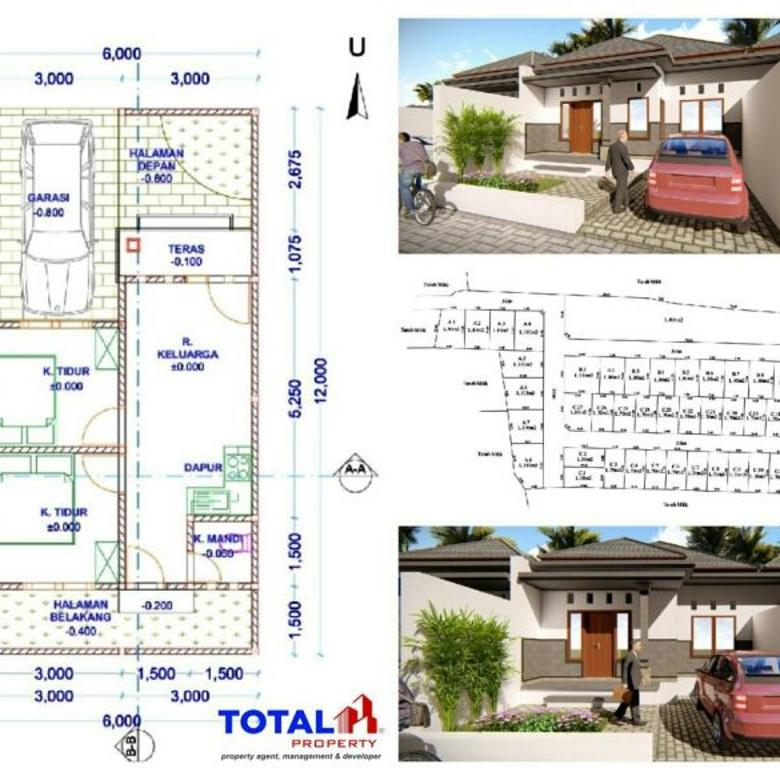 Dijual Rumah Minimalis tipe 42/70 di Antasura, Denpasar Utara
