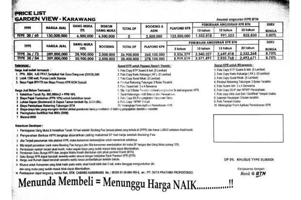 Hanya 2,5 jt Rupiah Bisa Memiliki Rumah di Purwakarta   Info lengkap: https 15829160