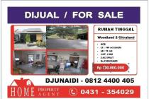 Rumah Dijual Woodland 2  Citraland Manado