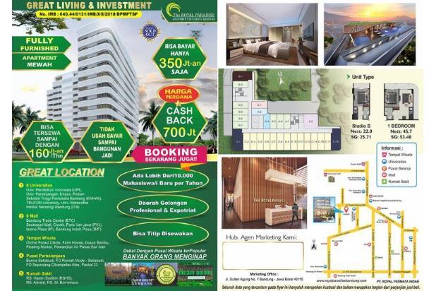 Rp1,21mily Apartemen Dijual